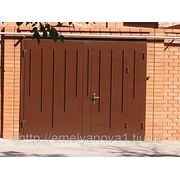 Гаражные ворота фото