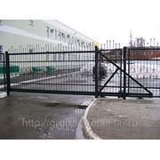 Ворота сварные распашные ,откатные. фото