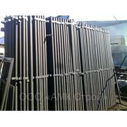 Столбы заборные круглые /грунт/ ф51/1,5мм, Н-2,3м фото