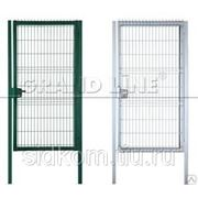 Уличные ворота и калитки фото
