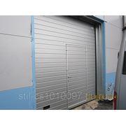 Ворота секционные промышленные Alutech 4000х4000 фото