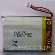 Аккумулятор для GPS трекера GlobalSat TR-600 (PSE H483448 или аналог) фото