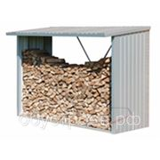 Навес для дров фото