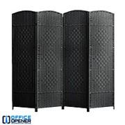Аренда ширмы чёрной, 180х200 см, 4 секции по 50 см фото