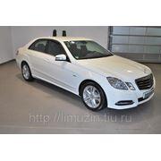 Аренда белого мерседес Mercedes E w212 white фото