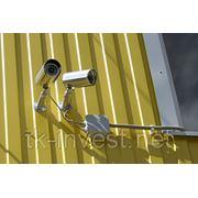 Монтаж 8 канальной системы аналогового видеонаблюдения (с оборудованием) фото
