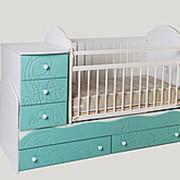 Детская кроватка трансформер Сафаня №3 Кошки-мышки фото