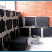 Утеплитель стен, пеностекло фото