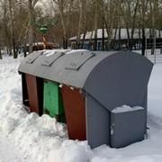 Оборудование для площадок установки контейнеров. фото