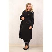 Пальто № 071-1 чорне фото