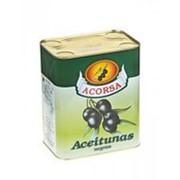 Оливки ACORSA черные c косточкой, 7,5 кг фото
