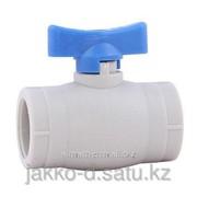 Вентиль шаровый ППР мини серый 25 Jakko фото