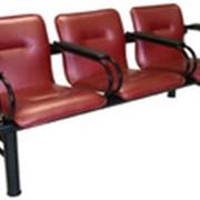 Кресла мест ожидания Модель Троя4П фото