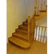 Маршевые деревянные лестницы фото