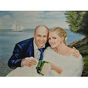 портрет к свадьбе ,Белый парус фото