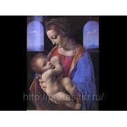 Леонардо да Винчи Мадона с младенцем, художники Эпохи Возрождения фото