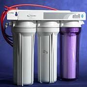 Замена фильтров для очистки воды фото