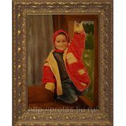 Детский портрет с фотографии, заказ портрета, заказать портрет, живописный портрет, живопись фото