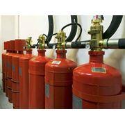 Монтаж систем газового пожаротушения фото