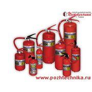 Огнетушители порошковые. фото