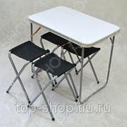 Комплект: стол + 4 стула фото