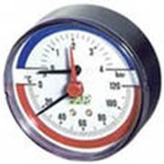 Термоманометр Watts аксиальный TMAX фото