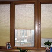 Рулонно-кассетные шторы для окон ПВХ. фото