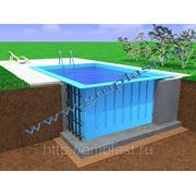 Продажа пластиковых бассейнов фото