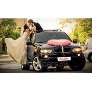 Аренда BMW Х5 на свадьбу фото