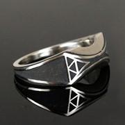 "Серебряное мужское кольцо ""Zelda"" от WickerRing фото"