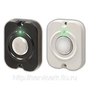 Кнопка выхода накладная, НО, 12В, 0.1А, металл, подсветка, 53х41х10мм фото