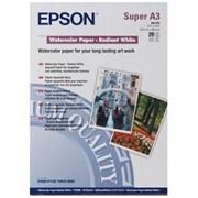 Бумага epson Water Color Paper-Radian White A3 фото