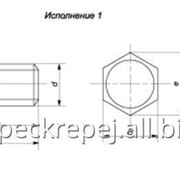 Болт для фланцевых соединений атомных энергетических установок ГОСТ 23304-78