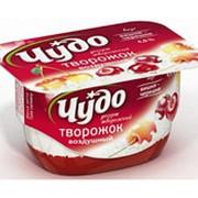 Творожный десерт ЧУДО Вишня-черешня 4%, 100 г фото