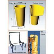 Мусоропровод строительный (мусоросброс) фото