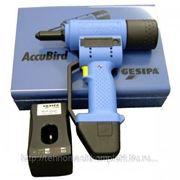 Аккумуляторный заклёпочник Gesipa Accubird фото