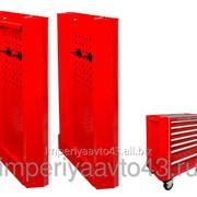 Навесные панели для инструментальной тележки 87432-5В, 87434-7B, 5 предметов KING TONY 87430A фото