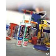 Герметик DOMOS силиконовый белый 310 мм фото