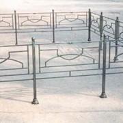 Ограды кованые ритуальные фото