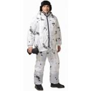Костюм Стелс (куртка длинная, брюки) КМФ Клякса фото