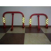 Механические барьеры для партовки автомобилей. фото