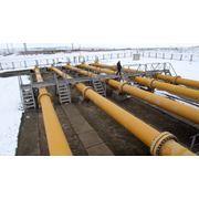 Обслуживание мест разрыва в зоне прохождения газопроводов фото