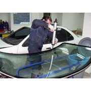 Установка автомобильных стекол и зеркал фото