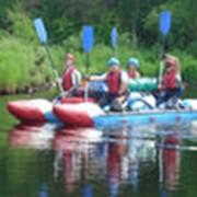 Сплав на байдарках (река Белая) фото
