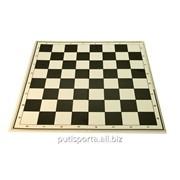 Доска для шахмат Картон со сгибом 300х300мм, мелован.карт.-лак фото