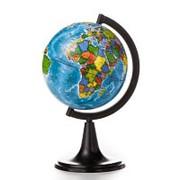Глобус политический,120мм фото