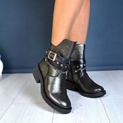 """Женские демисезонные ботинки """"H@rmes"""". ДС-2-0918 фото"""
