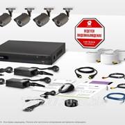Готовый комплект видеонаблюдения Эконом 7S фото