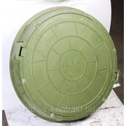 Люк полимерно-композитный D 780х100х40 фото