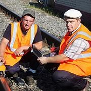 Дефектоскопия железнодорожного пути фото